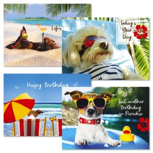 Paradise Birthday Cards and Seals