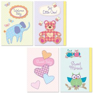 Baby Shapes Baby Cards and Seals