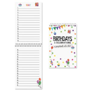 Just for Birthdays Perpetual Calendar - BOGO
