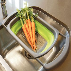 Collapsible Over the Sink Colander