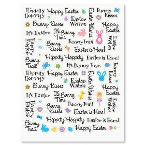 Happy Easter Word Stickers