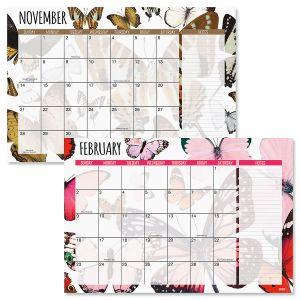 2020-2021 Butterfly Flurry Calendar Pad