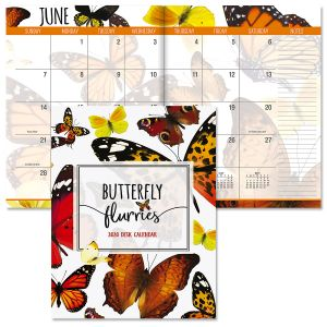 2020 Butterfly Flurry Desk Calendar