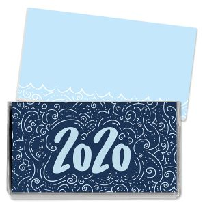 2020 Calligraphy Pocket Calendar
