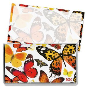 2020 Butterfly Flurry Pocket Calendar