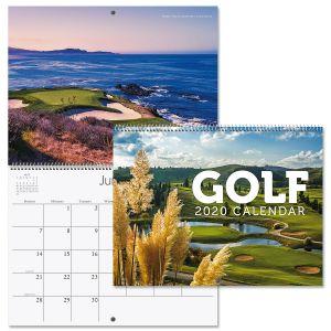 2020 Golf Wall Calendar