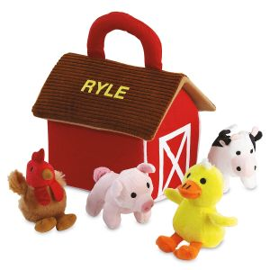 Personalized Barnyard Friends