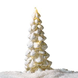 Light-up Snowy Tree