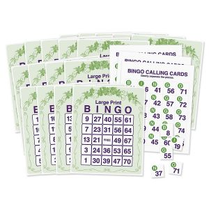 Large Print Bingo Game