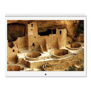 Scrapbooking Photo Blank Calendar