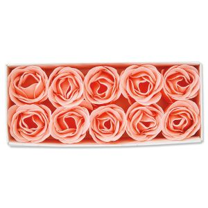 Coral Rose Soap Set