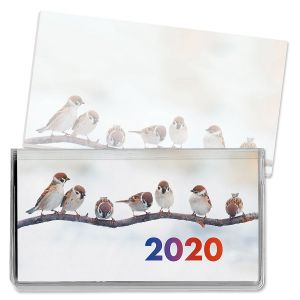 2020 Bird Friends Pocket Calendar