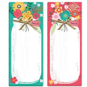Country Jar Magnetic List Pads