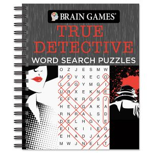 True Detective Word Search Brain Games®