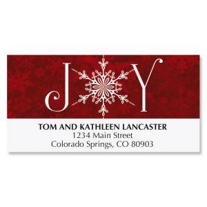 Joyful Greetings Deluxe Address Labels