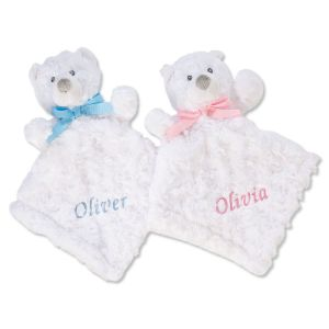 Personalized Cuddle Bear Blankets