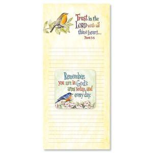 Trust in the Lord Magnet & List Pad