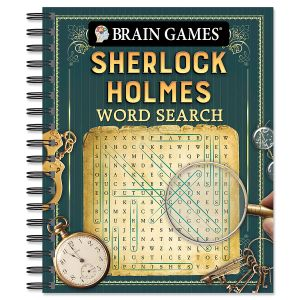 Sherlock Holmes Word Search Brain Games®