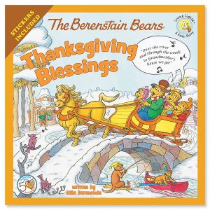 The Berenstain Bears® Thanksgiving Blessing Book