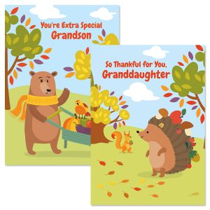 Grandchild Thanksgiving Card