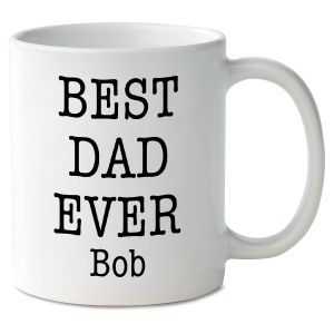 Best Dad Ever Personalized Mug