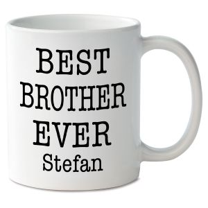 Best Brother Ever Personalized Mug