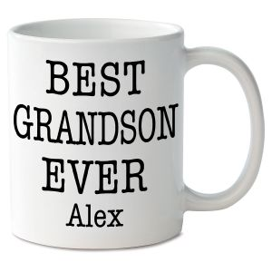 Best Grandson Ever Personalized Mug