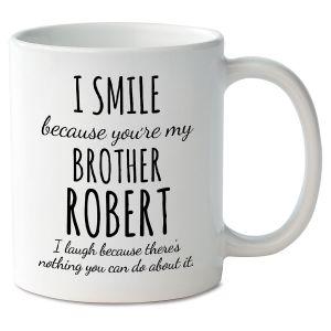 Smile Brother Personalized Mug