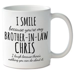 Smile Brother-In-Law Personalized Mug