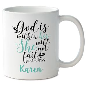 God Within Her Personalized Mug