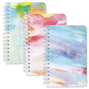 Brushstrokes Spiral Notebooks - BOGO