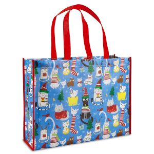 Christmas Cats Shopping Bag - BOGO