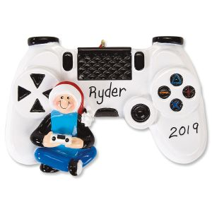 Gaming Personalized Ornament