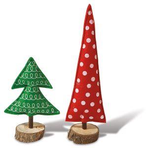 Felt Christmas Trees Décor