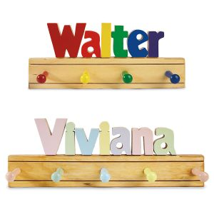 Child's Personalized Coat Rack