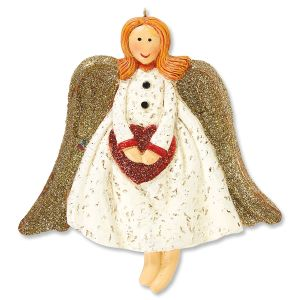 Heart Angel Ornament