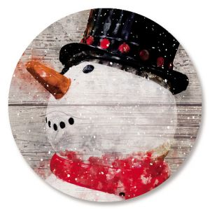 Snowman Believe Seals