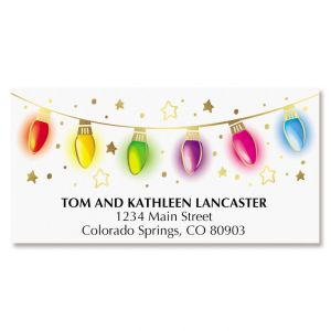 Lights Deluxe Address Labels
