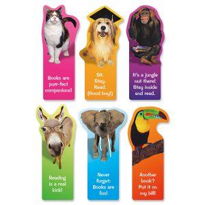 Reading Animal Bookmarks