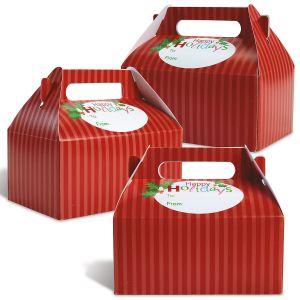 Christmas Stripes Treat Boxes