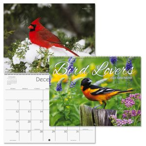 2021 Bird Lovers Wall Calendar