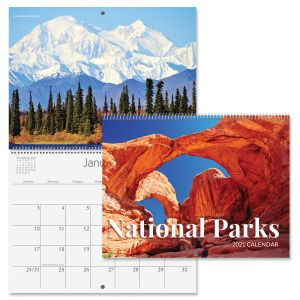 2021 National Parks Wall Calendar