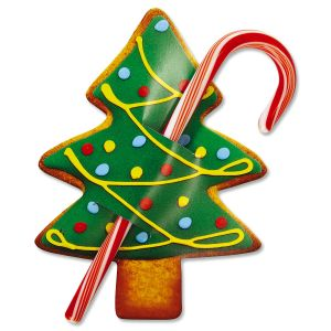 Christmas Tree Candy Cane Holders