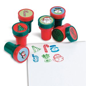 Self-Inking Holiday Stampers