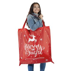 Oversized Christmas Tote