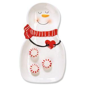 Snowman CandyDish