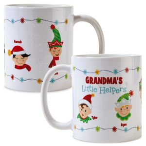 Personalized Grandma's Helpers Mug