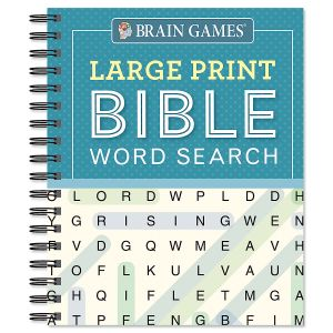 Large Print Bible Word Search Brain Games®