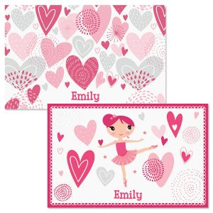 Ballerina Personalized Kids' Placemat