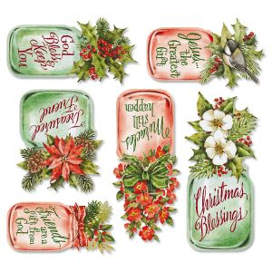 Christmas Mason Jar Magnets